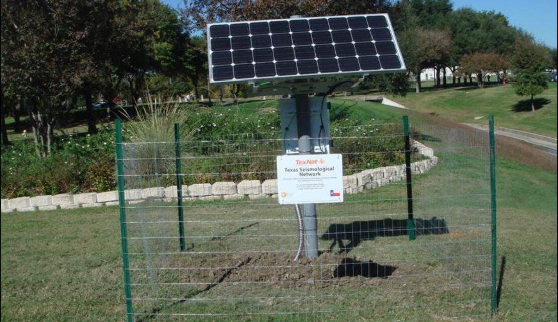 TexNet seismometer